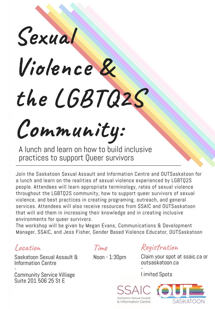 Sexual violence and the LGBTQ2 community